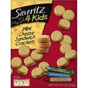 Savoritz Mini Cheese Sandwich Crackers