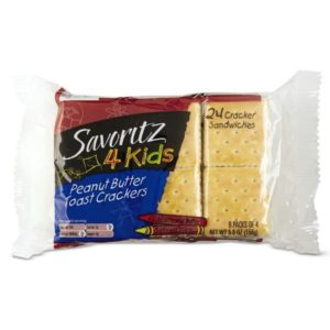 Savoritz Toast and Peanut Butter Crackers