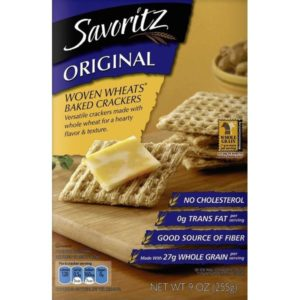 Savoritz Woven Whole Wheat Cracker