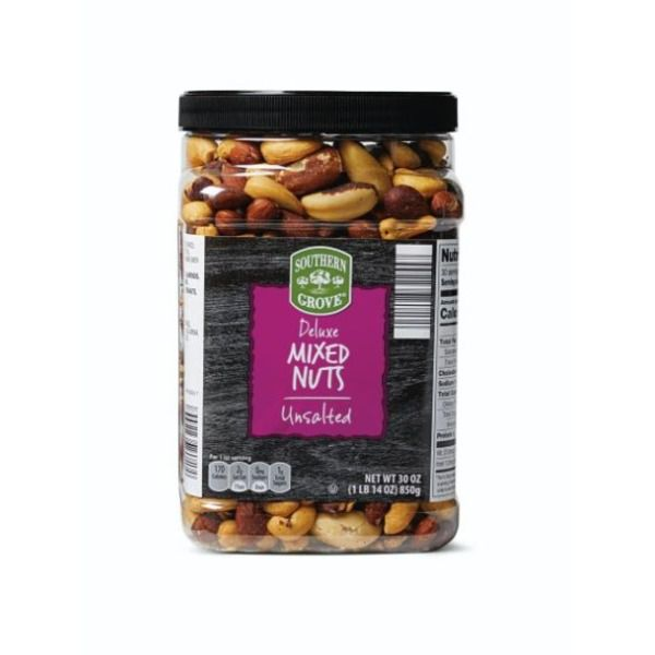Southern Grove Deluxe Mixed Nuts Unsalted